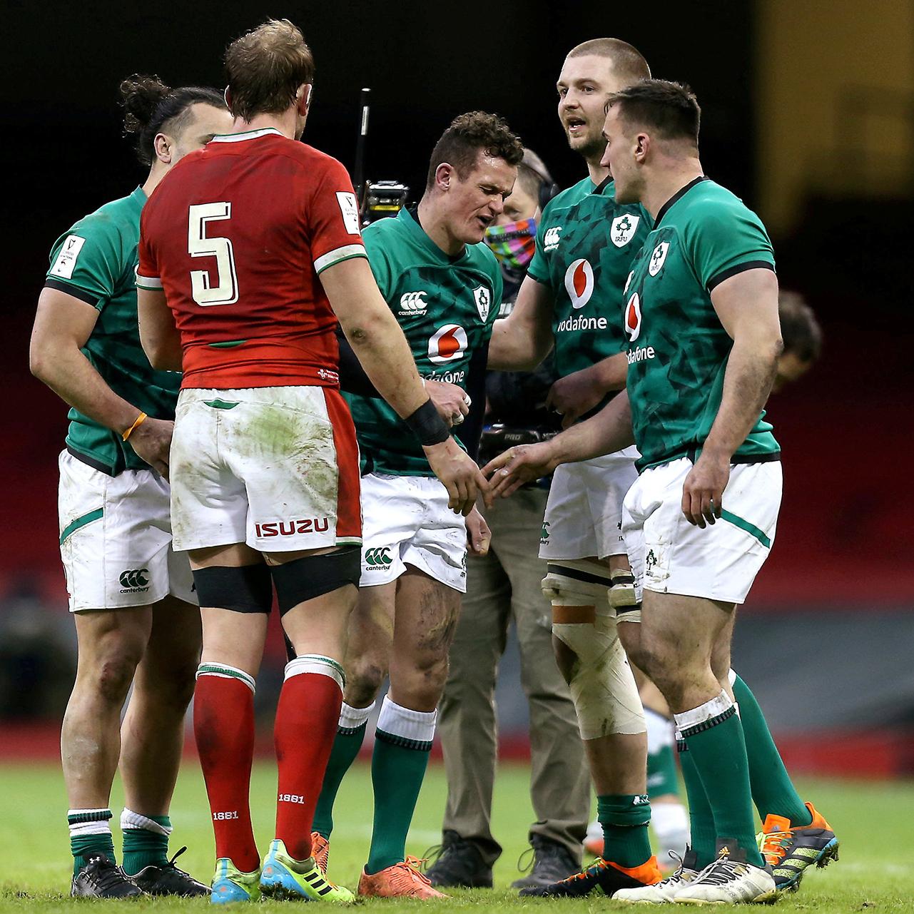Billy Burns Ireland vs Wales