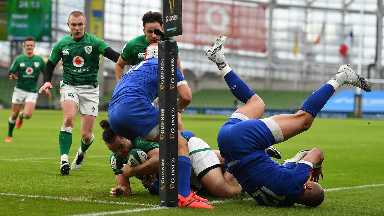 James Lowe TMO Ireland vs France