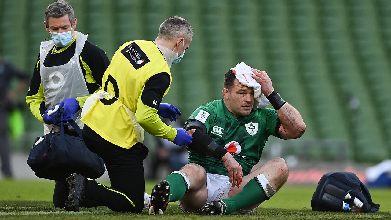 Cian Healy Ireland vs France