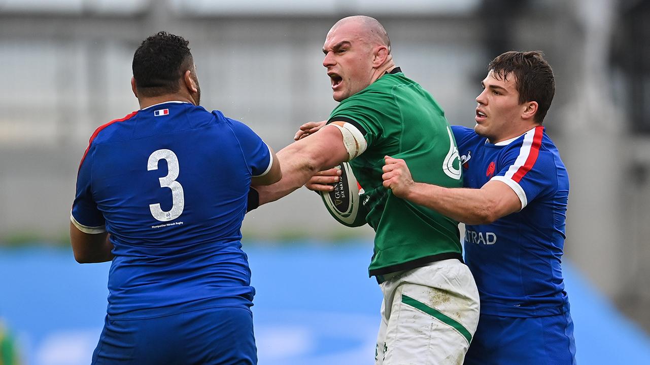 Rhys Ruddock Ireland vs France