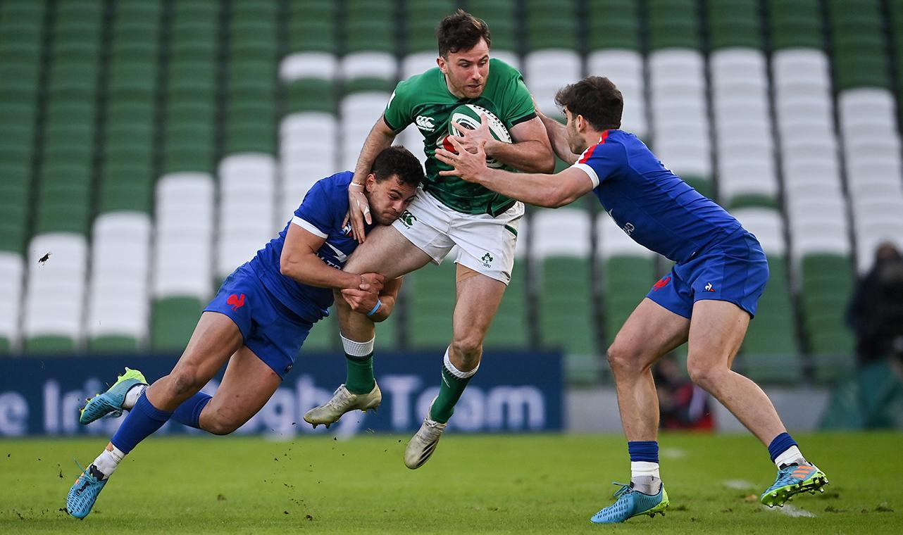 Hugo Keenan Ireland vs France 2021