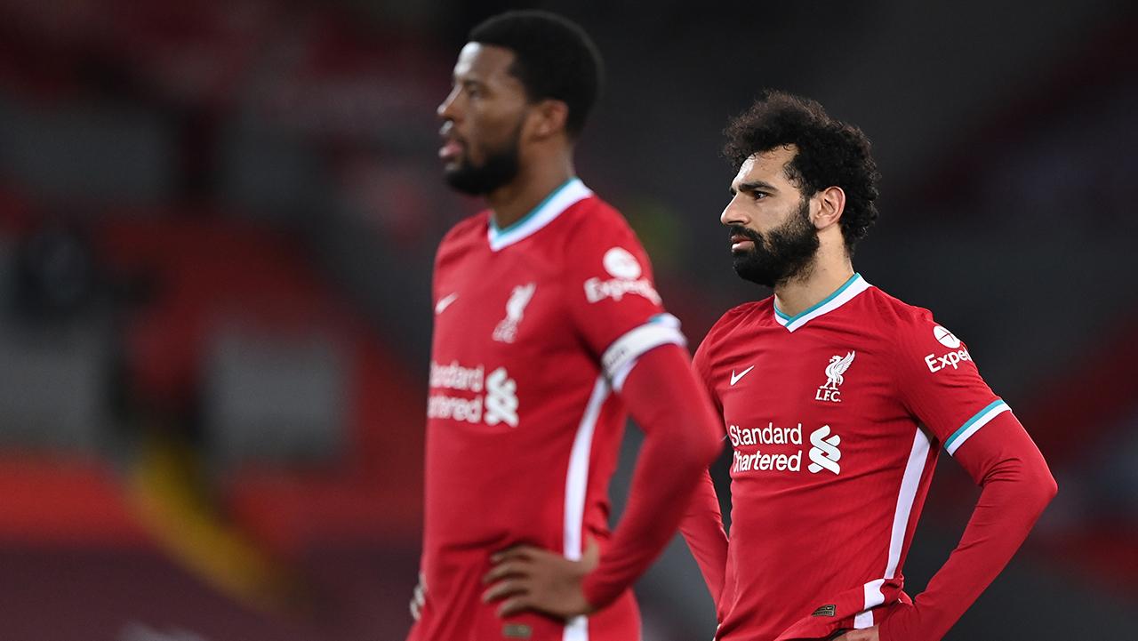 Liverpool Dejected