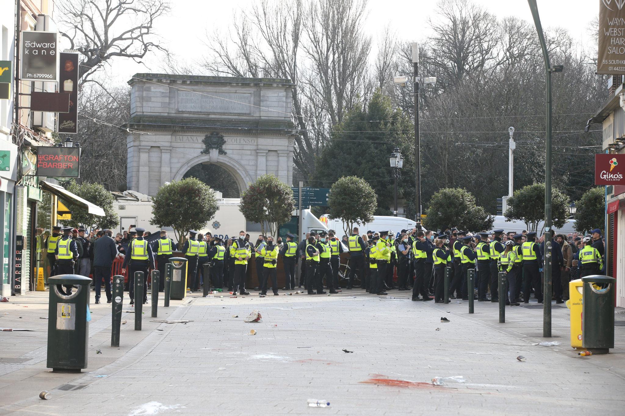 dublin protests