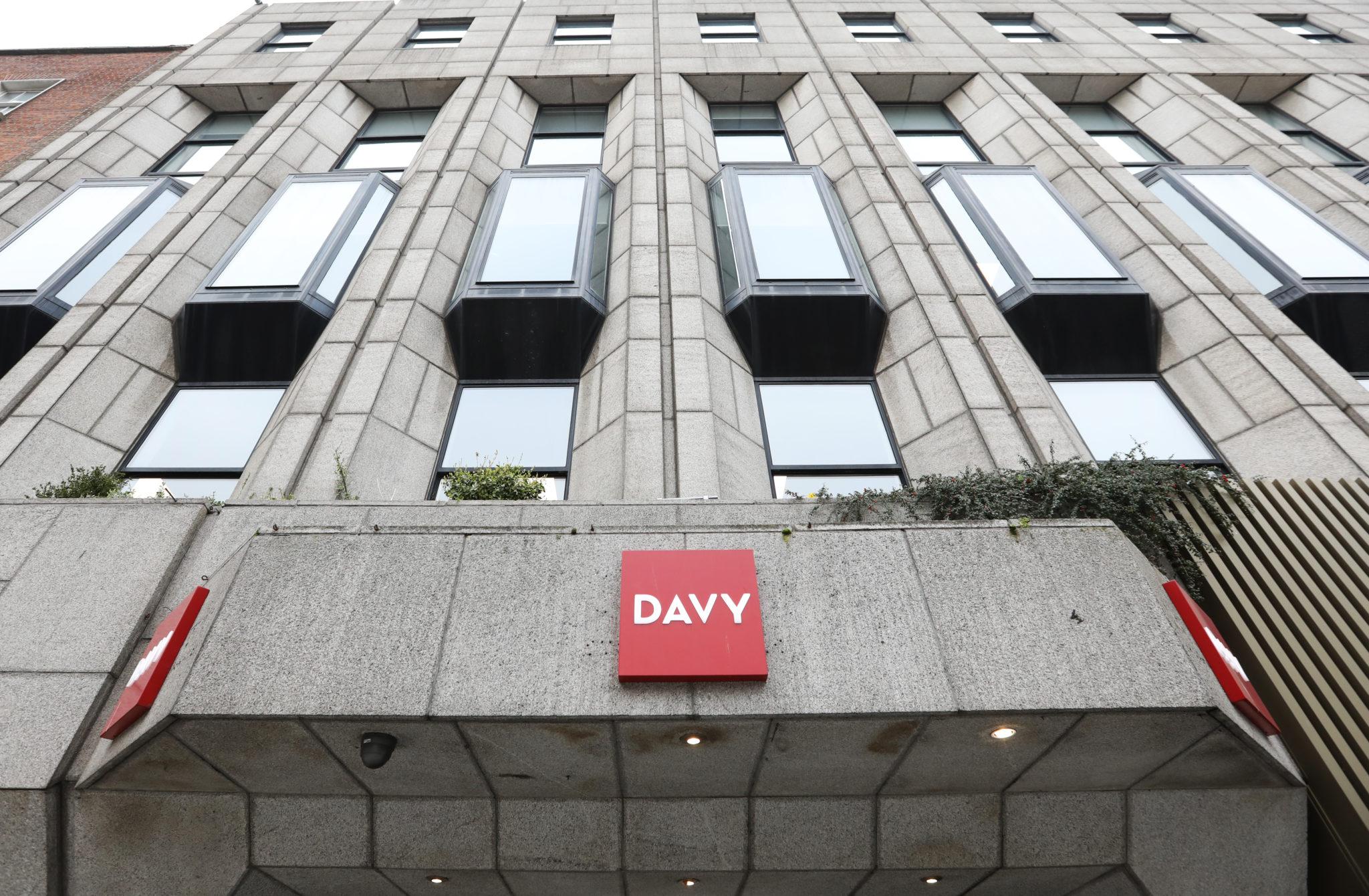 Davy stockbrokers Offices on Dawson street in Dublin