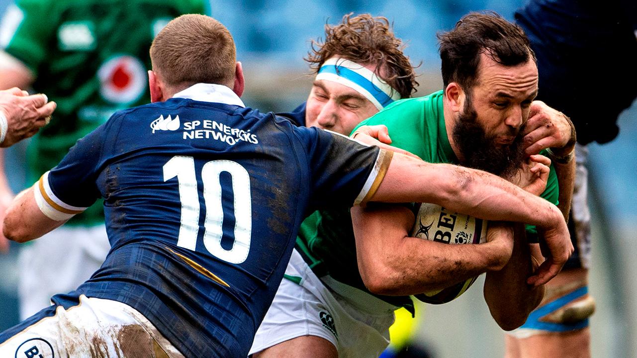 Jamison Gibson-Park Ireland vs Scotland