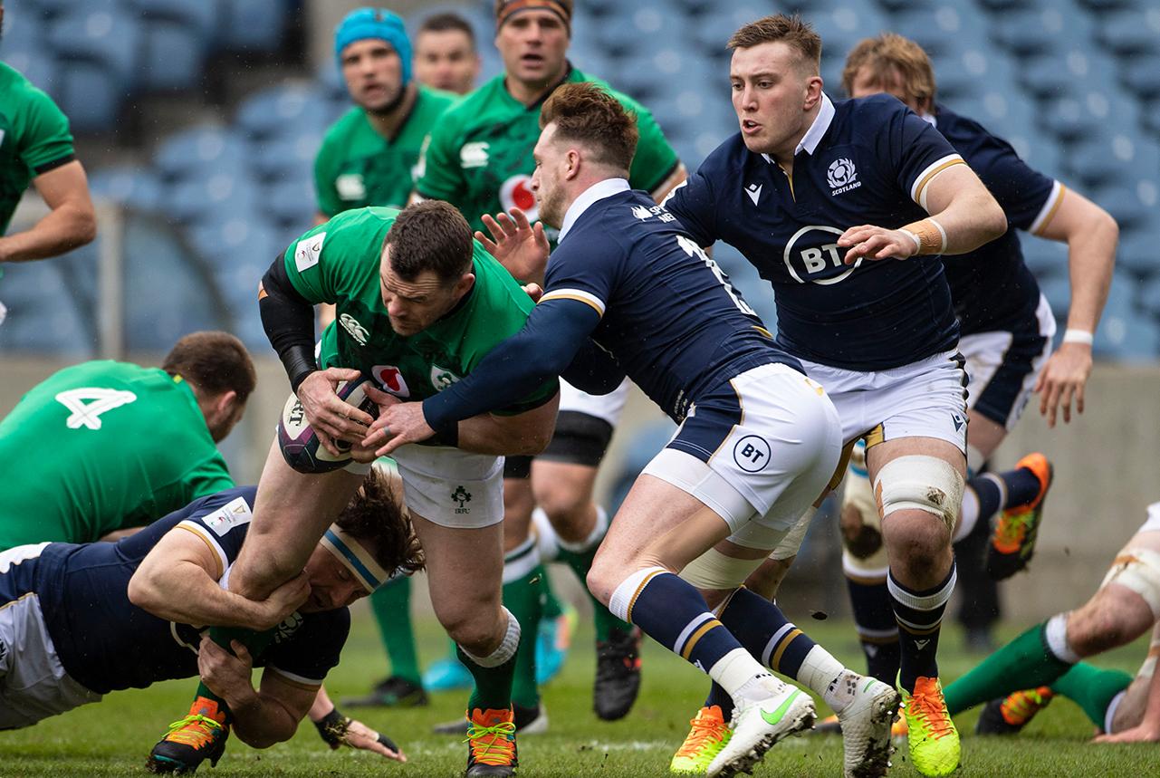 Cian Healy Ireland vs Scotland