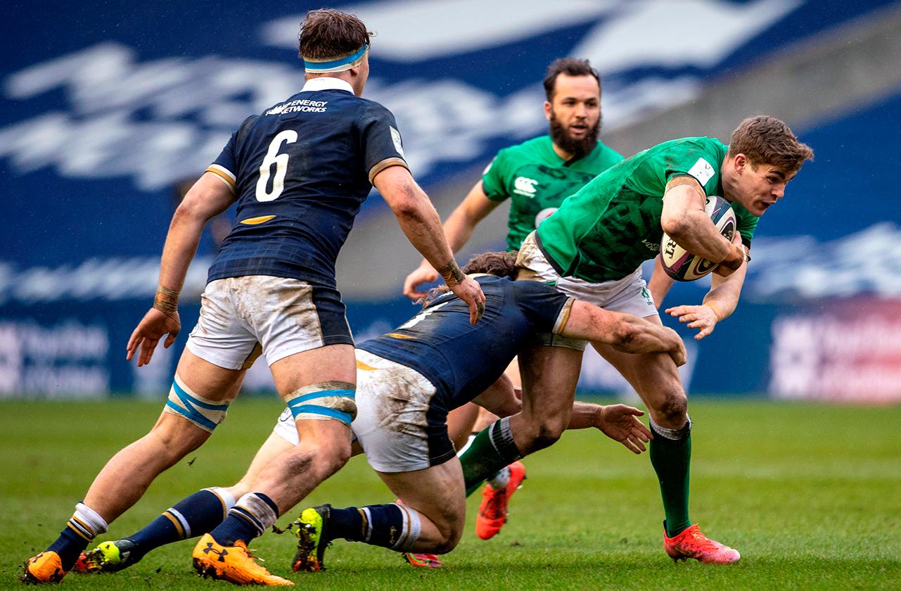 Garry Ringrose Ireland vs Scotland
