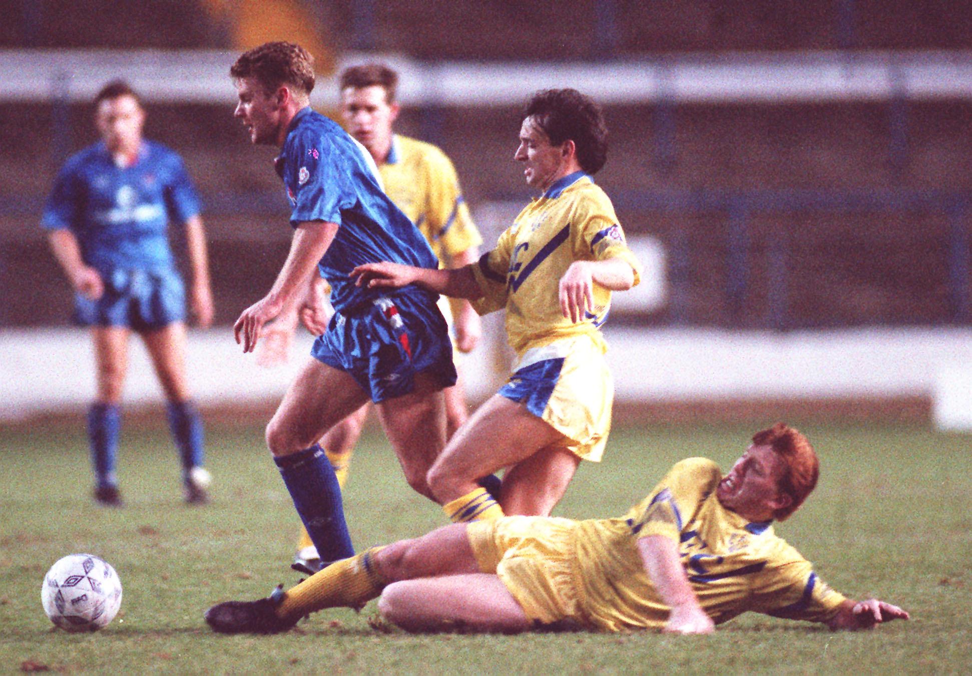 Pat Nevin of Everton