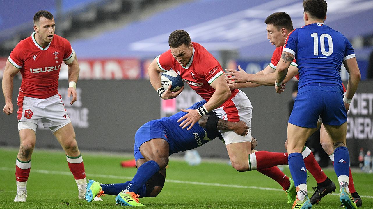 George North Wales vs France