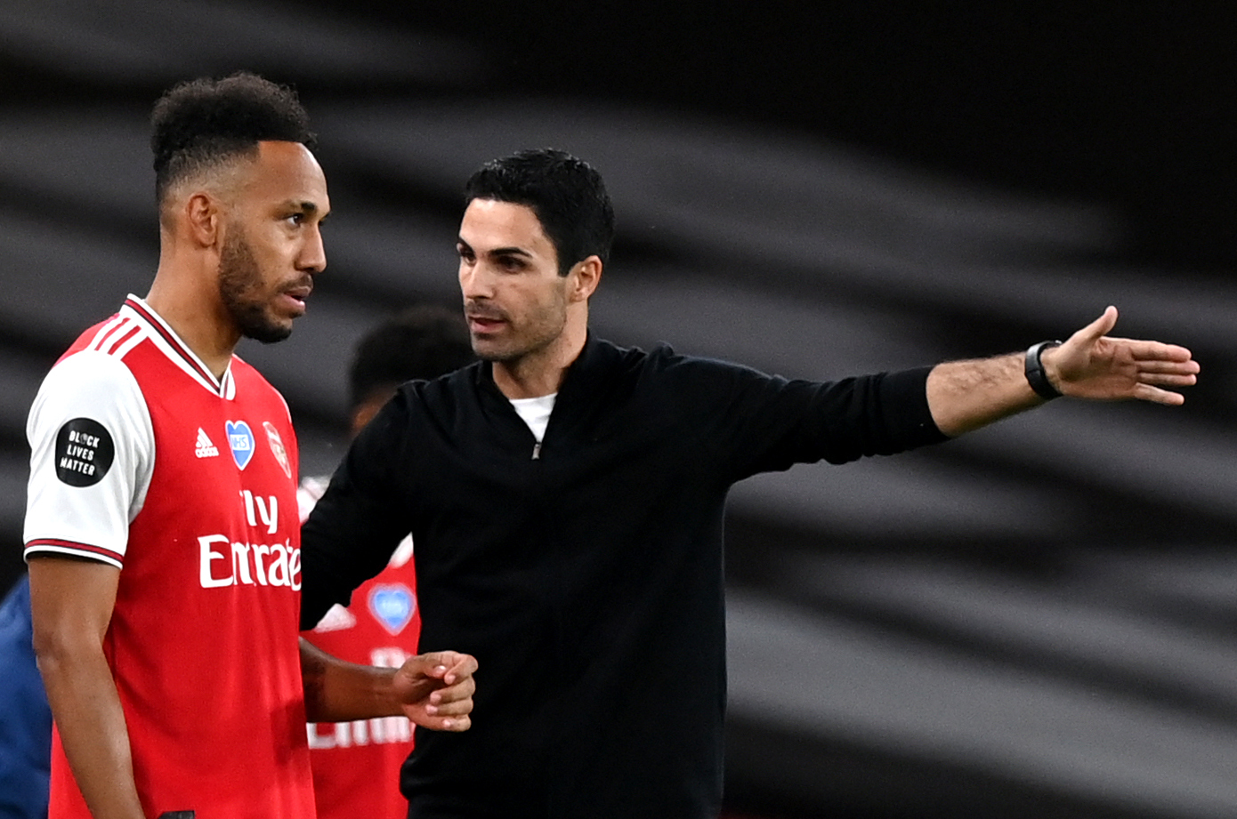 Arsenal boss Mikel Arteta showed conviction with Aubameyang said Delaney.