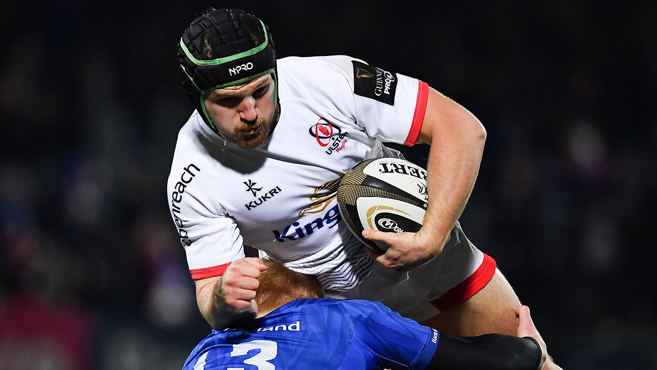 Angus Curtis Ulster vs Leinster