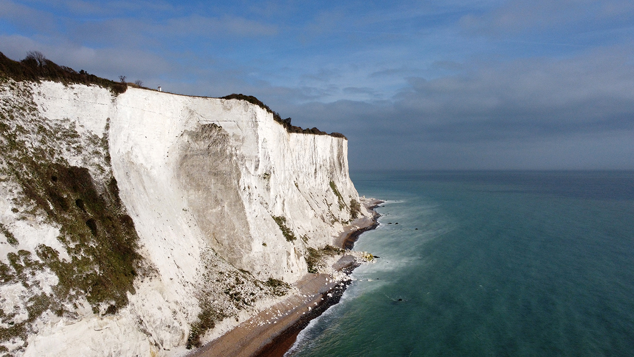 Dover Cliff English Channel