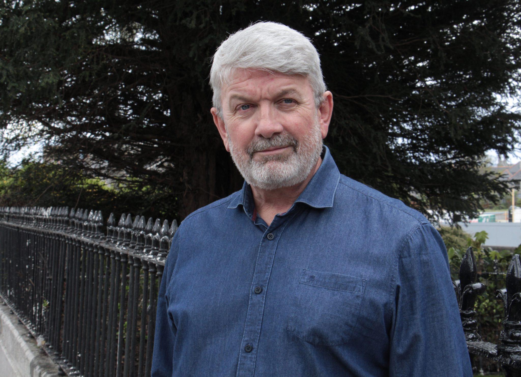 Dublin taxi driver Ray Sludds