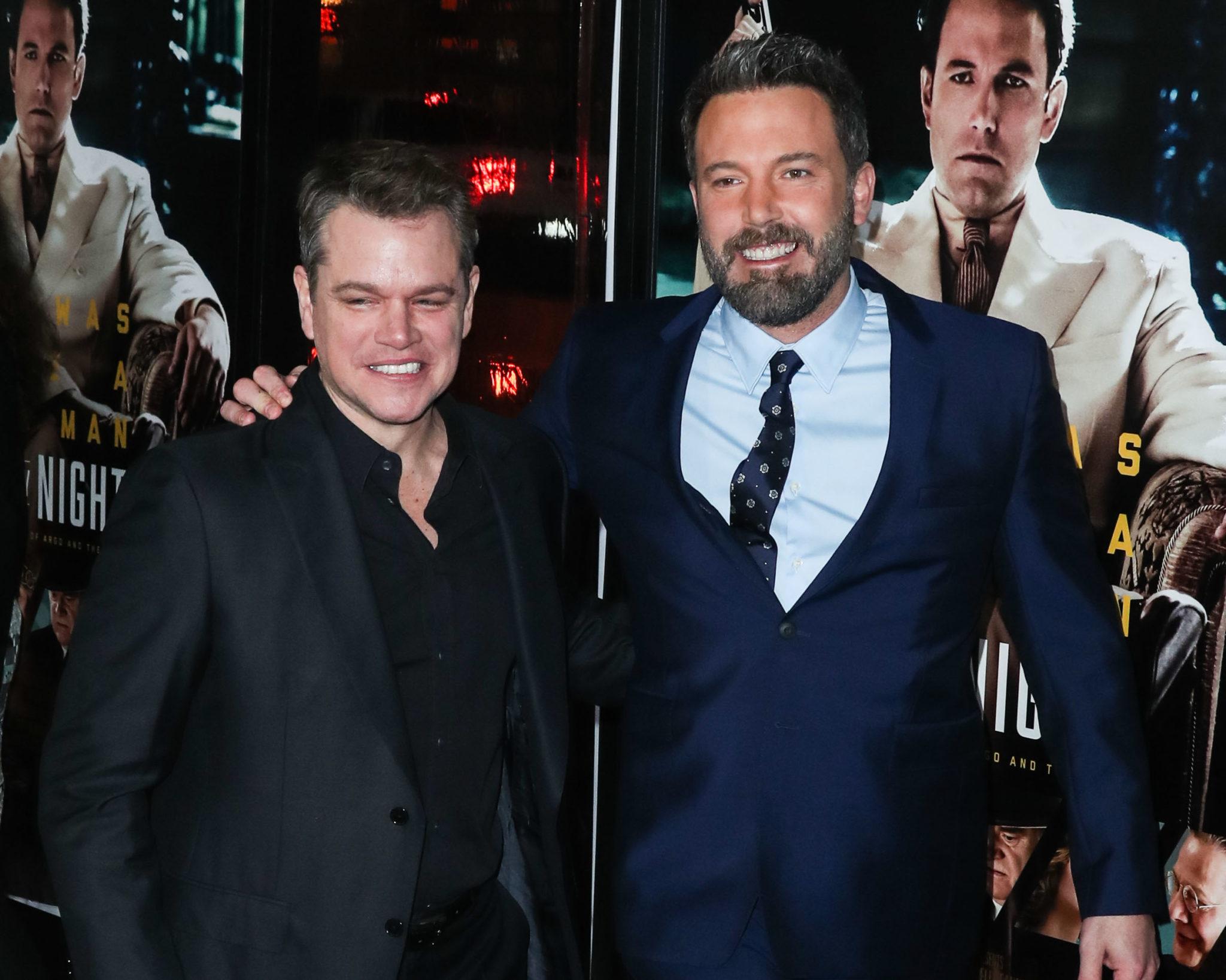 att Damon and Ben Affleck
