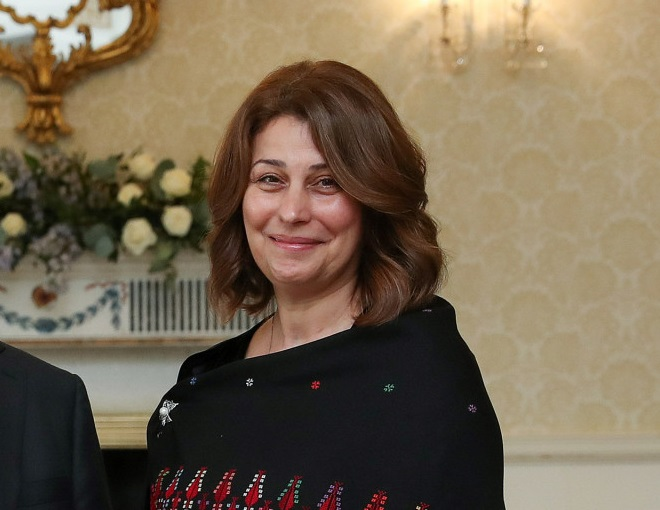 Palestinian ambassador to Ireland, Dr Jilan Abdalmajid
