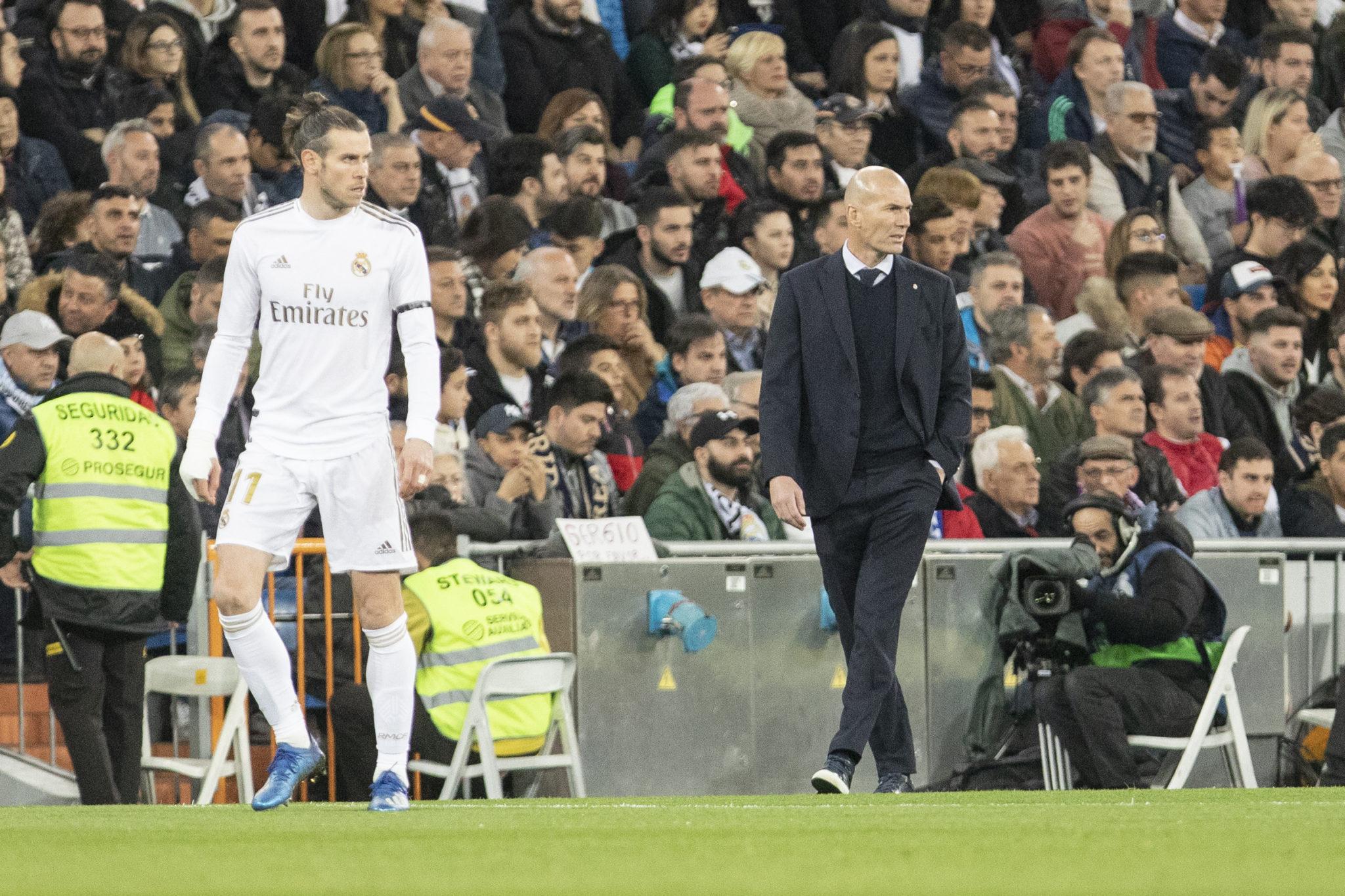 Bale and Ancelotti predecessor Zidane