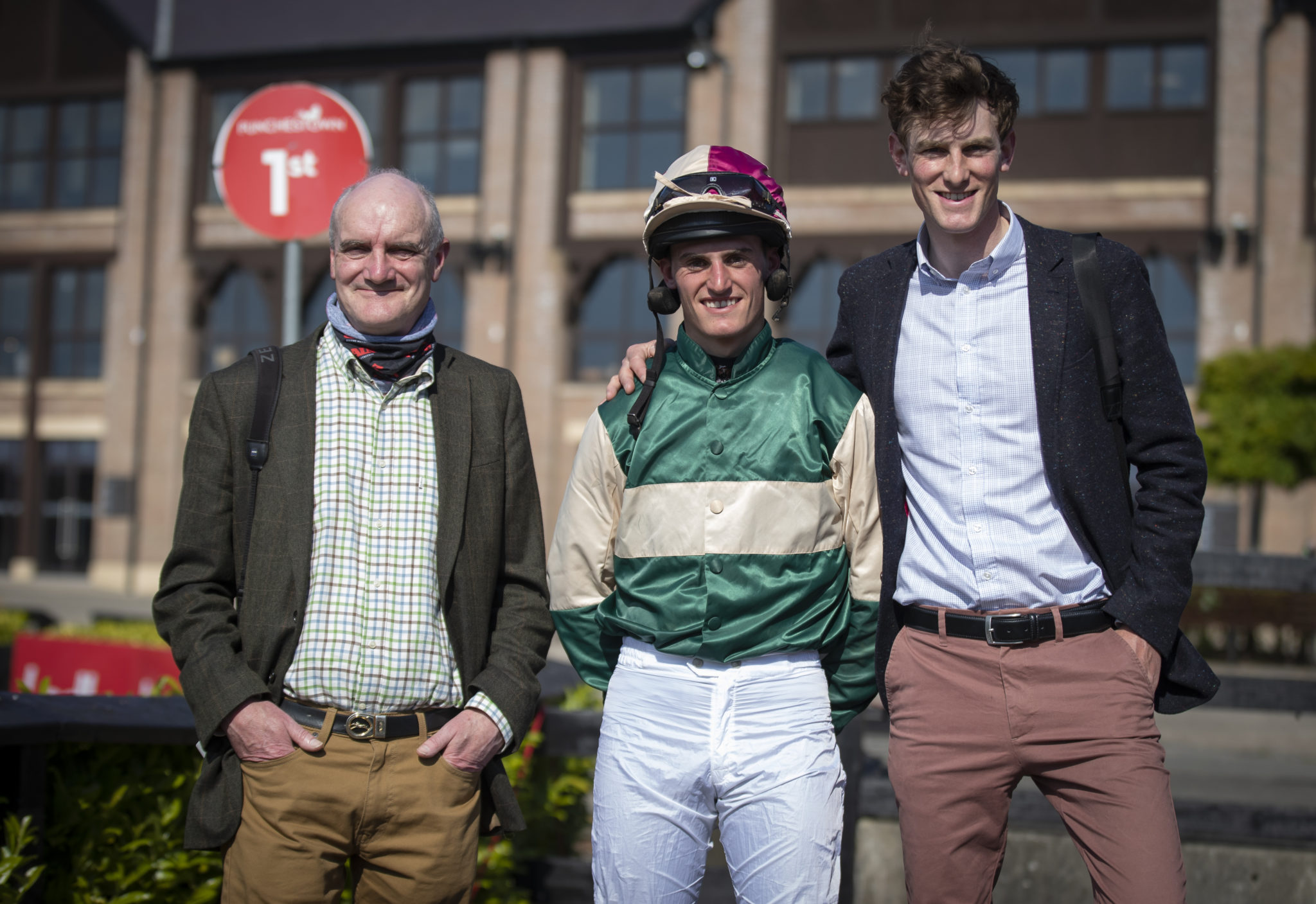 Joint-trainers Eddie and Patrick Harty
