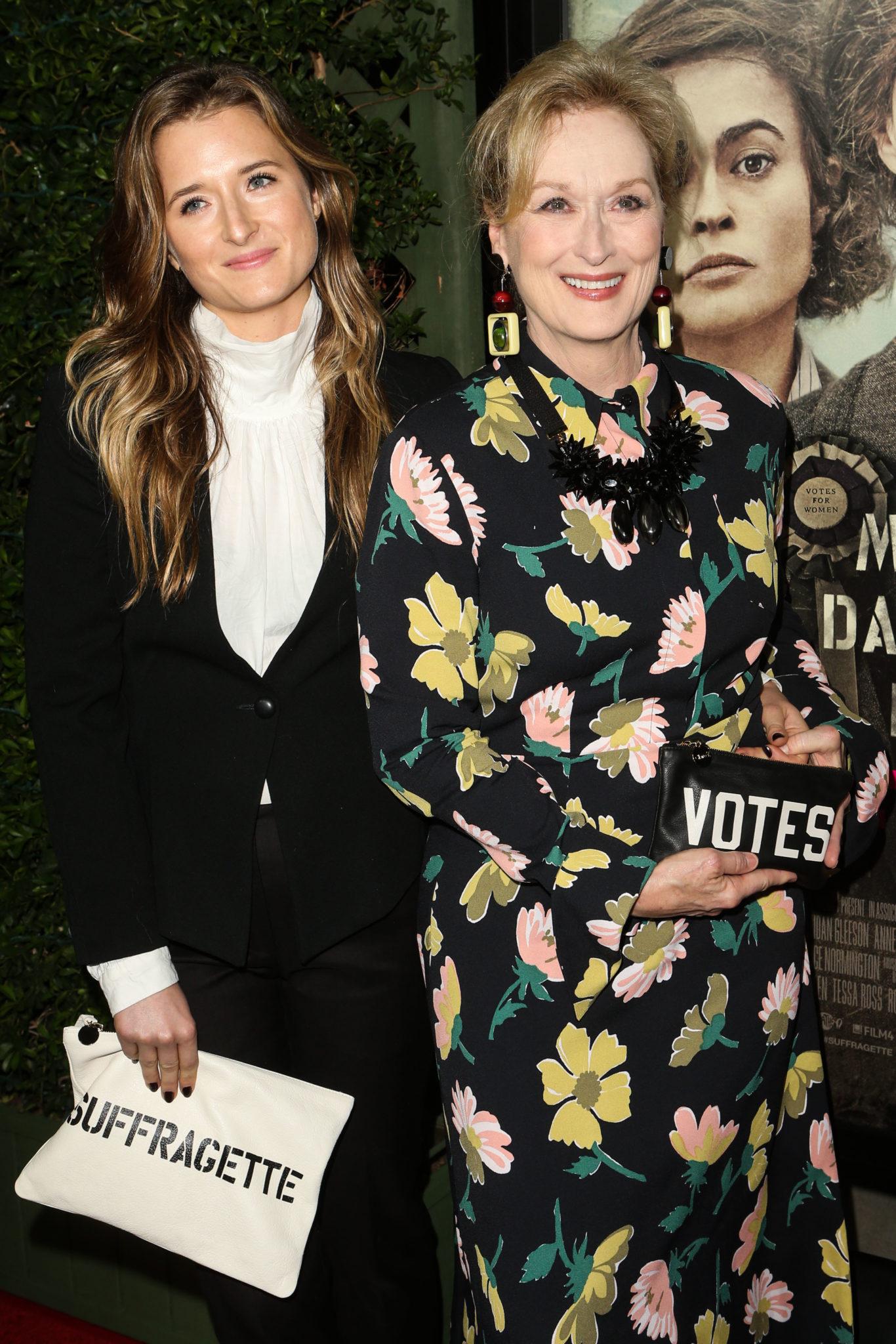 Meryl Streep and Grace Gummer