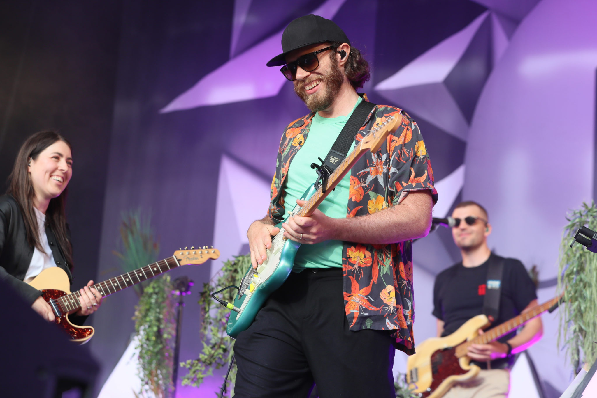 James Vincent McMorrow on stage during Ireland's first major live gig since the pandemic