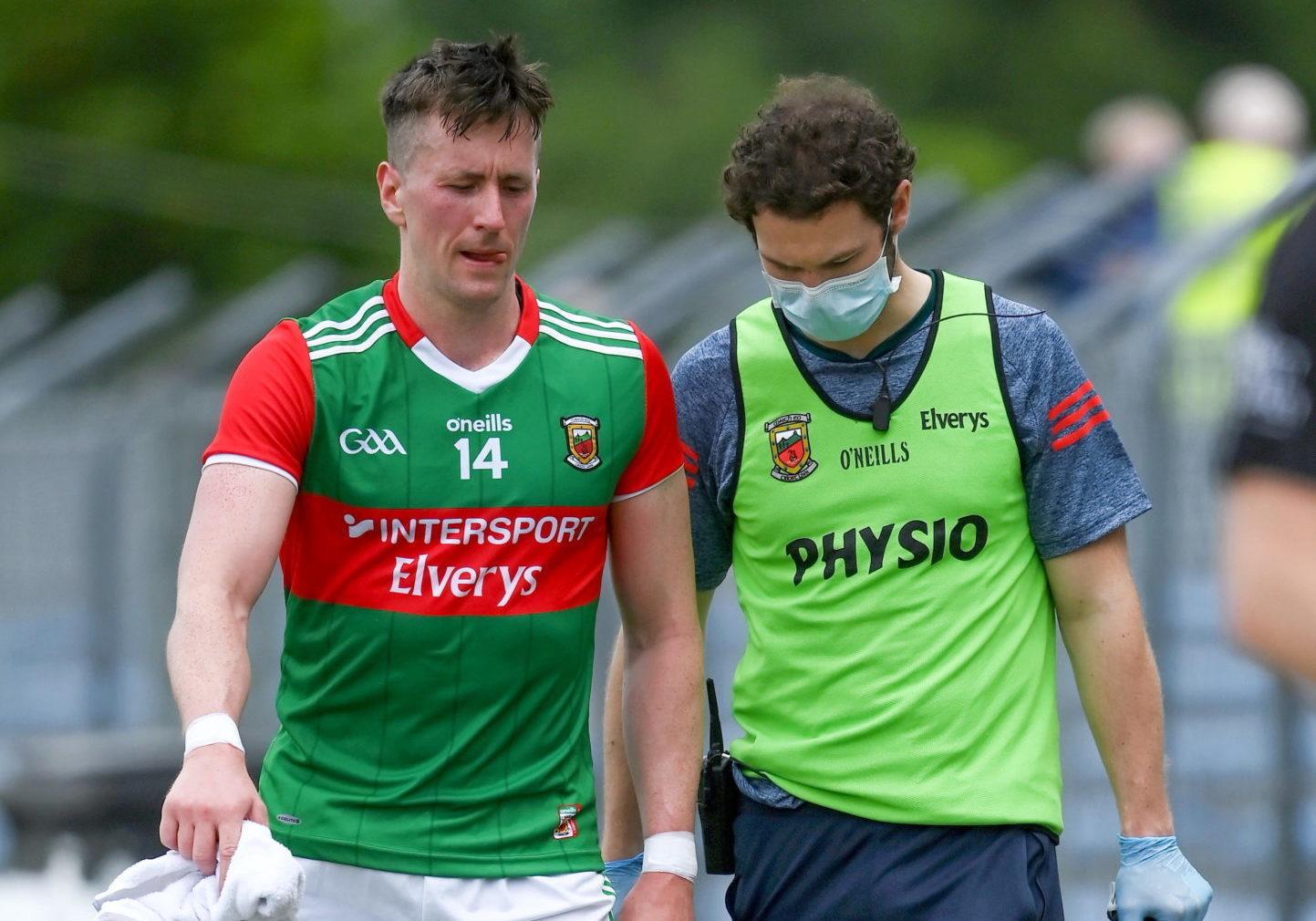 Mayo forward Cillian O'Connor