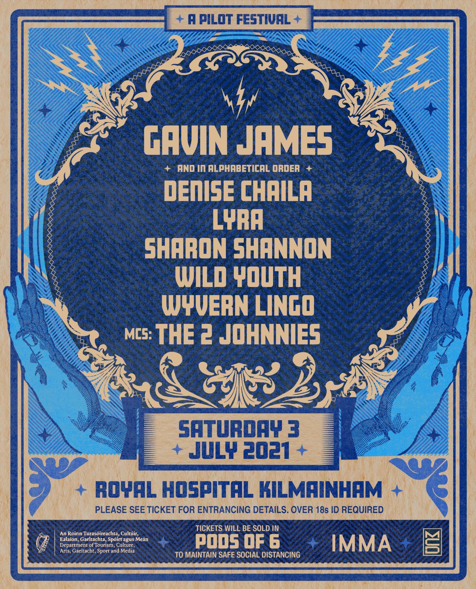 Gavin James To Headline Pilot Festival At Royal Hospital Kilmainham Next Month