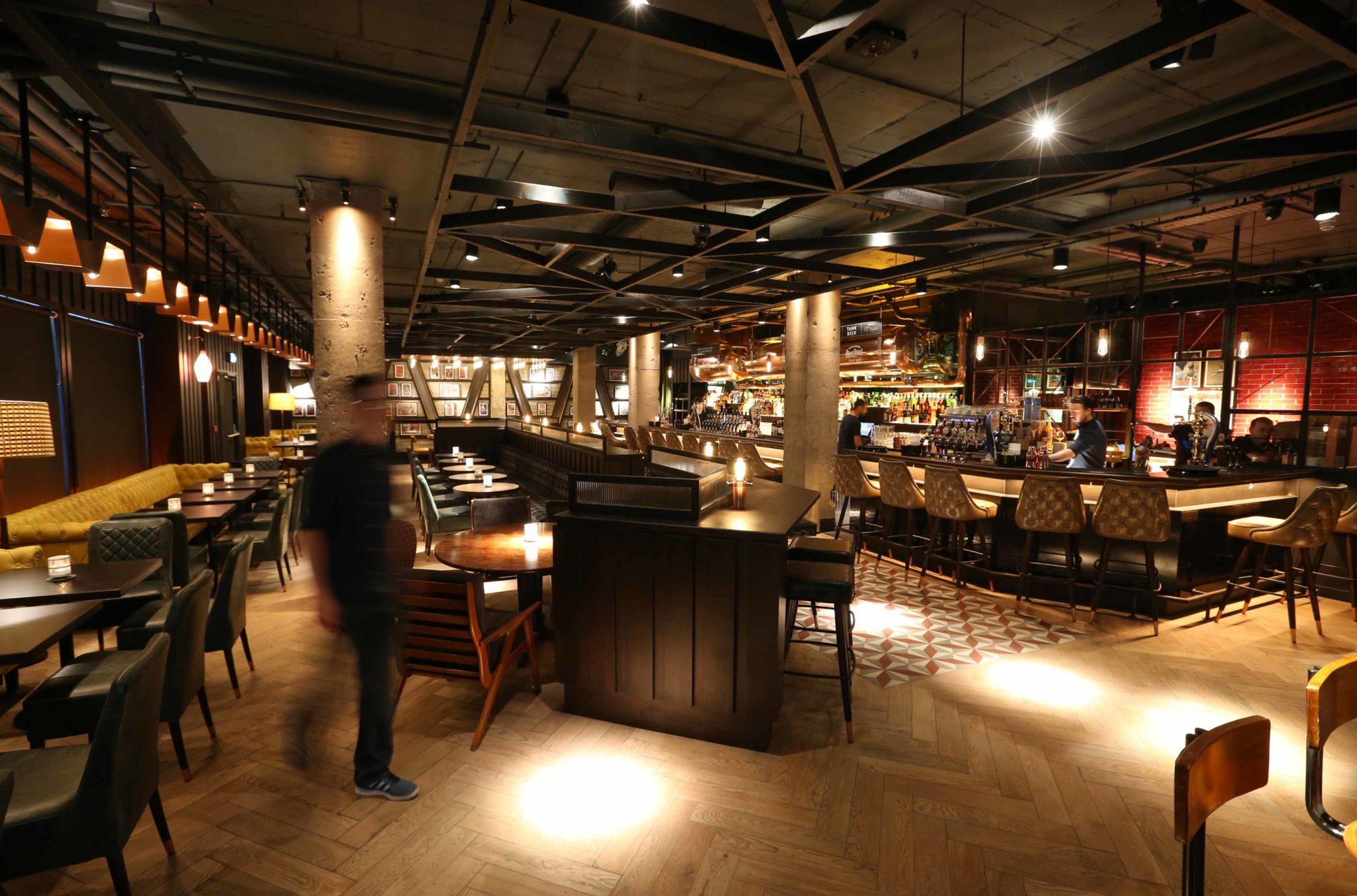 Lemon & Duke bar and restaurant in Dublin City Centre