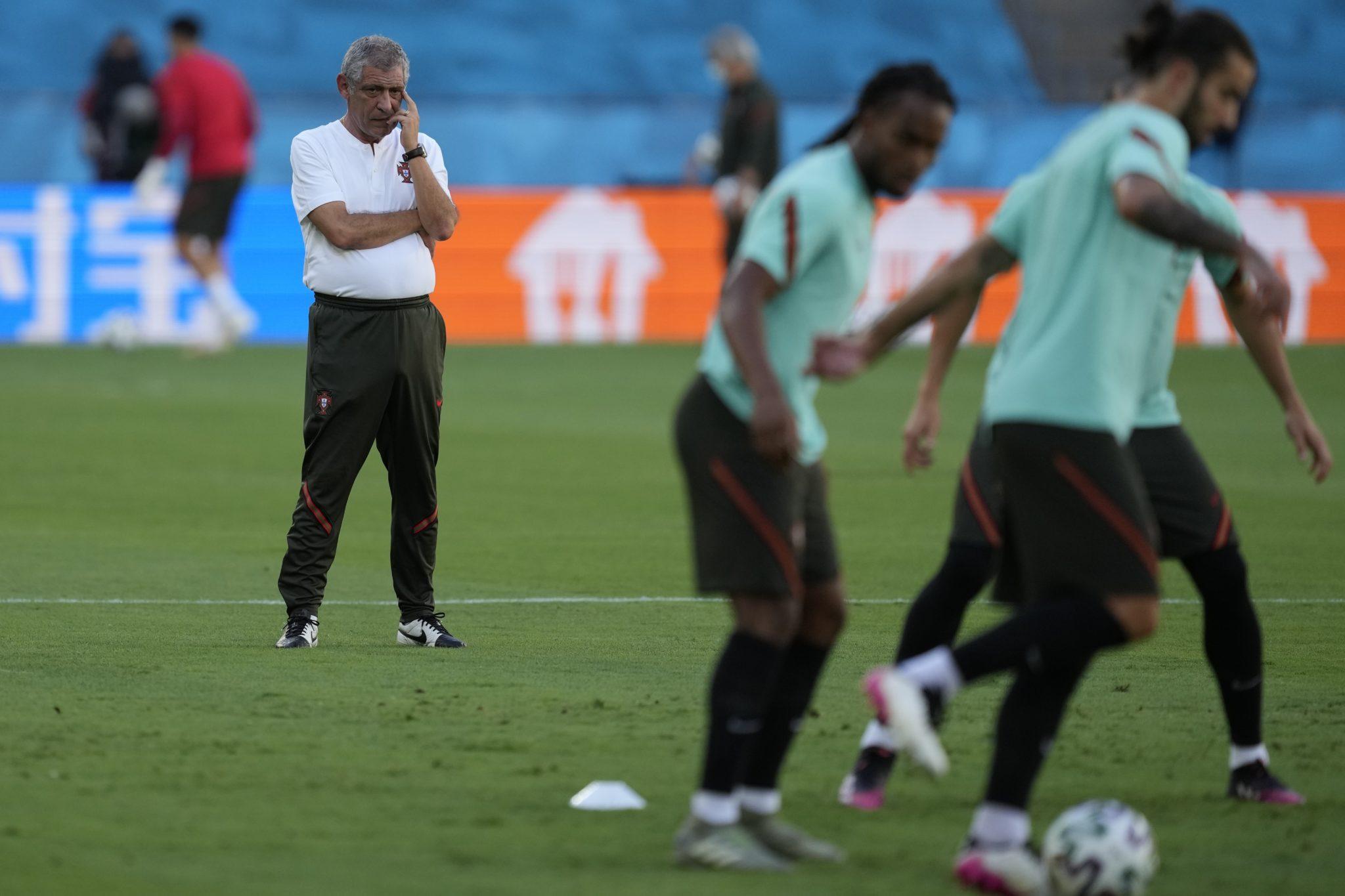 Portugal manager Fernando Santos