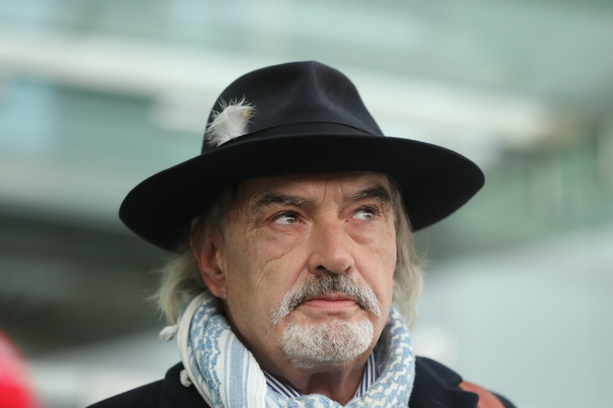 Ian Bailey outside the High Court, Dublin, after the court rejected an attempt by French authorities to extradite him for the murder of Sophie Toscan du Plantier.