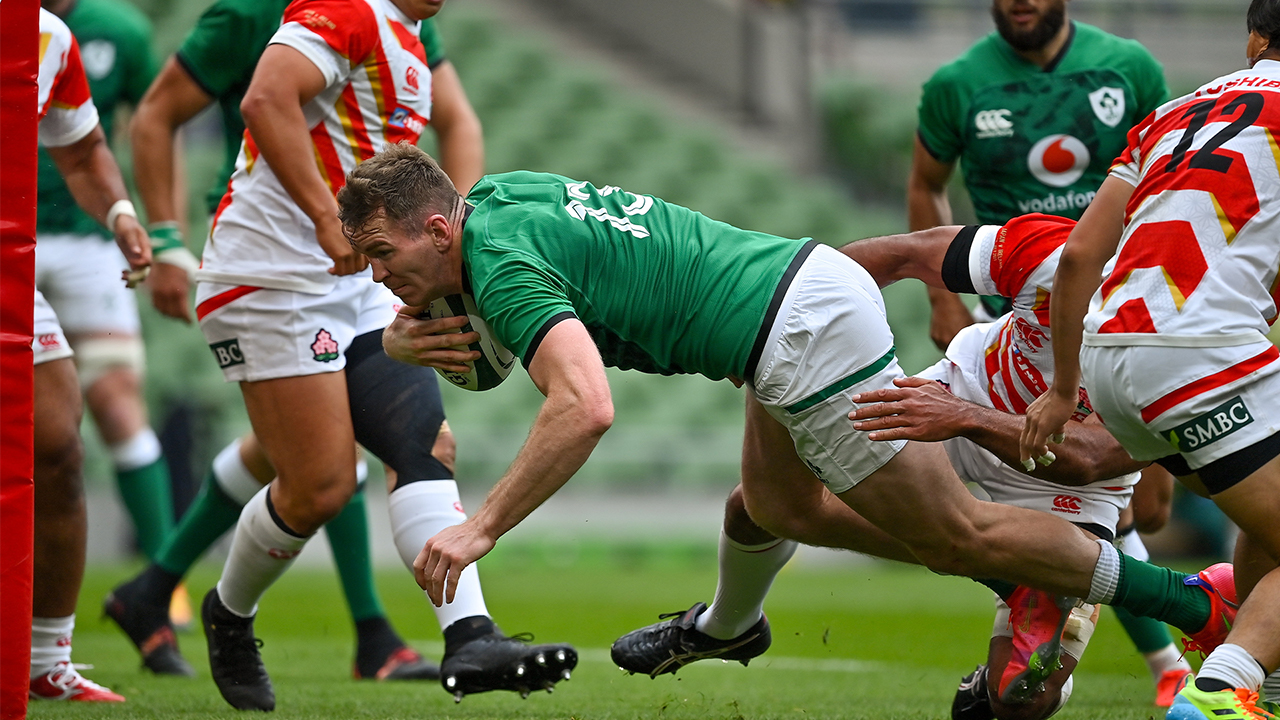 Farrell Try Ireland