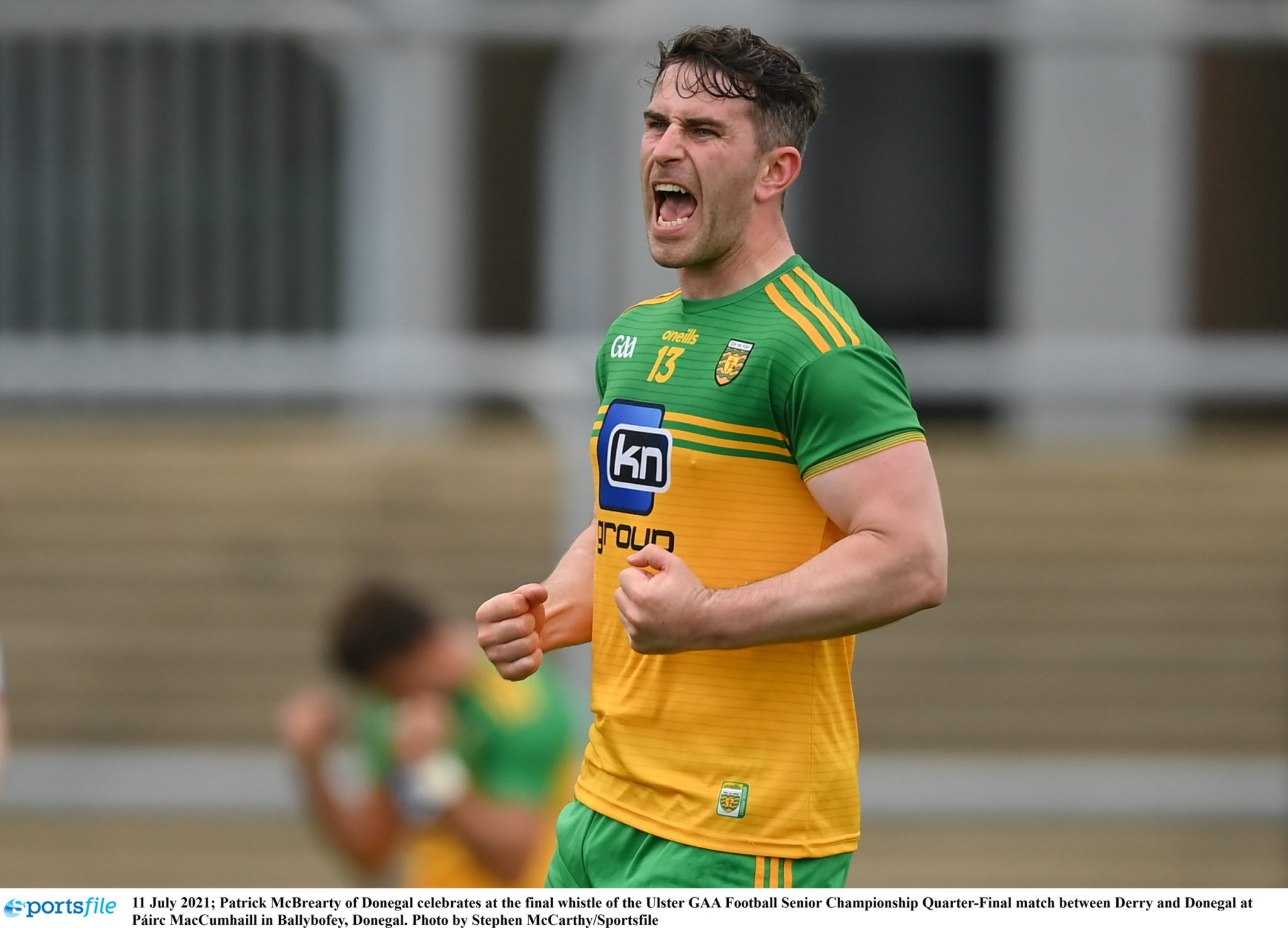 Patrick McBrearty of Donegal