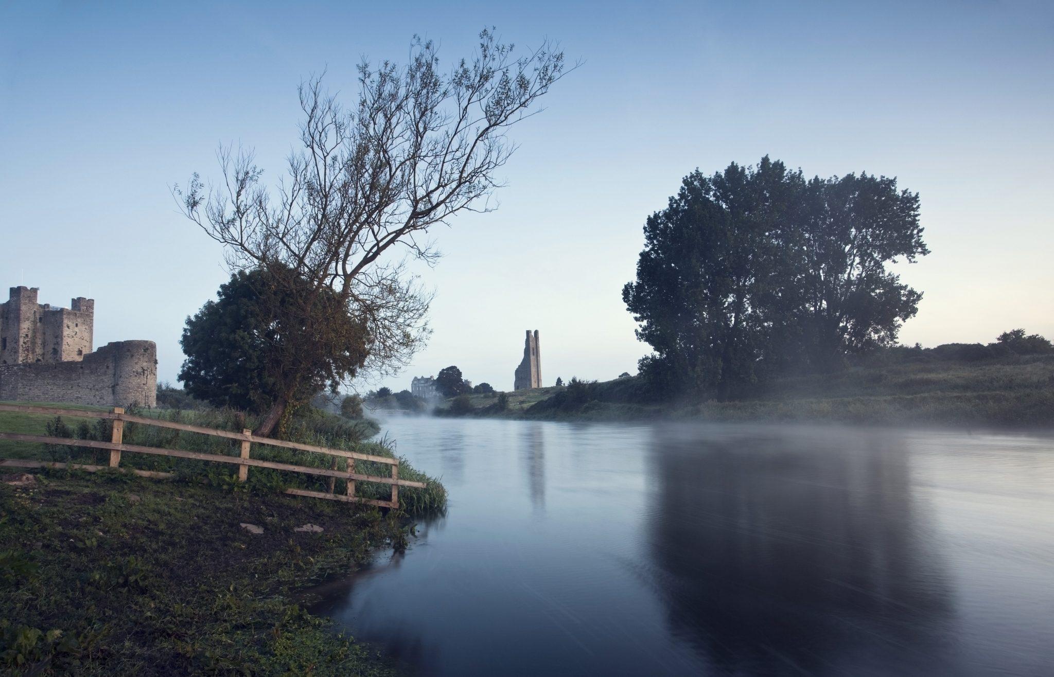 Trim Castle Along Banks Of The River Boyne, Trim, County Meath
