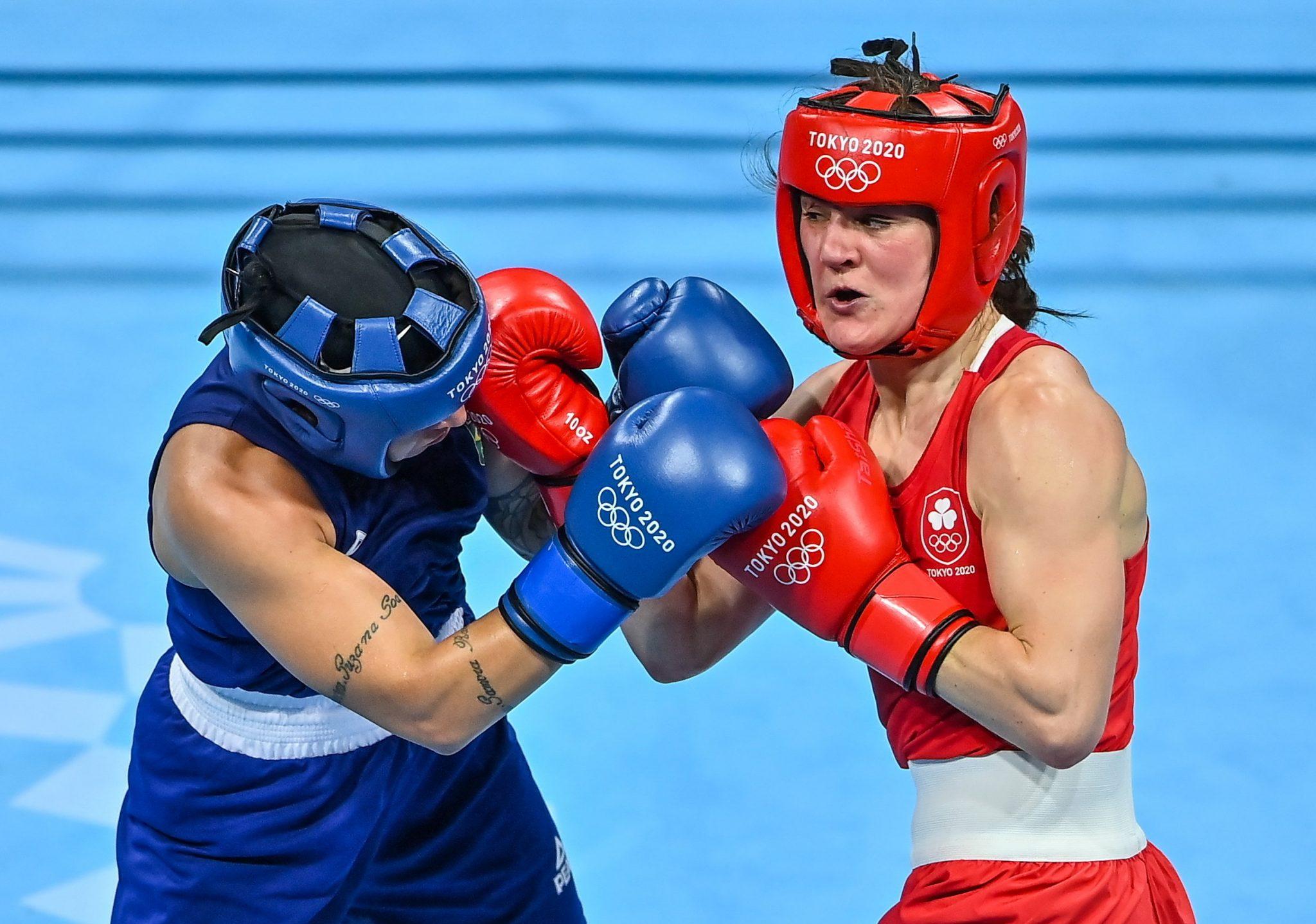 Harrington Boxing Olympics