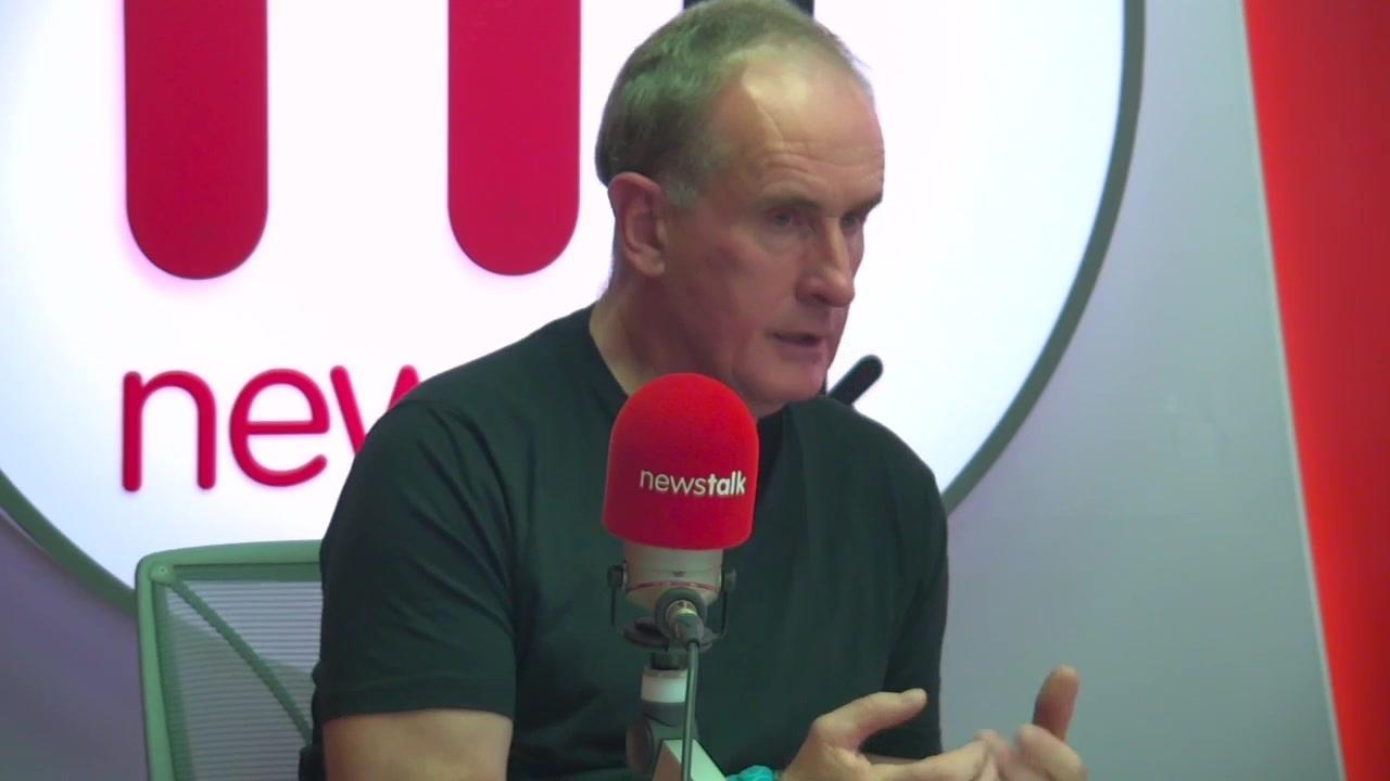 Dublin City Council CEO Owen Keegan speaking in Newstalk studios in Dublin