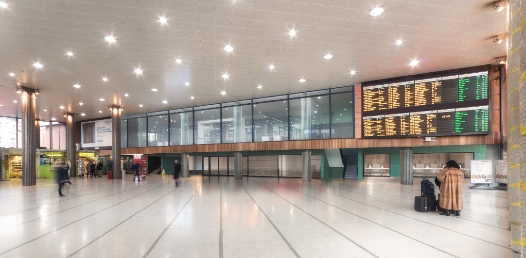 The main concourse in the proposed redevelopment of Busáras