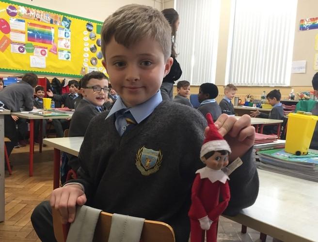 Christmas Day Kidstalk, Baby Jesus & Elf on the Shelf